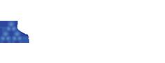 redes sociales logo white