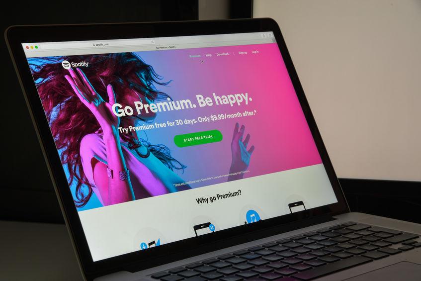 Publicidad Spotify en Panama